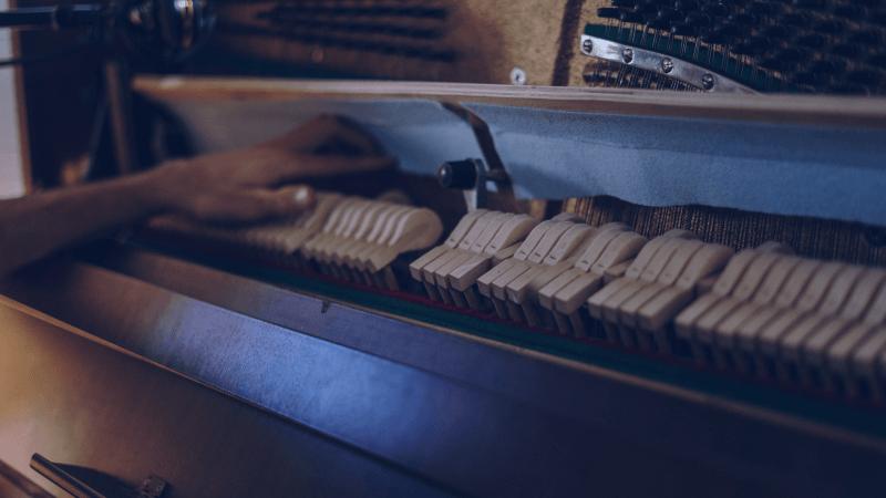 Fonctionnement du piano