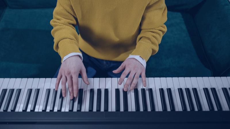 Les accords de base au piano