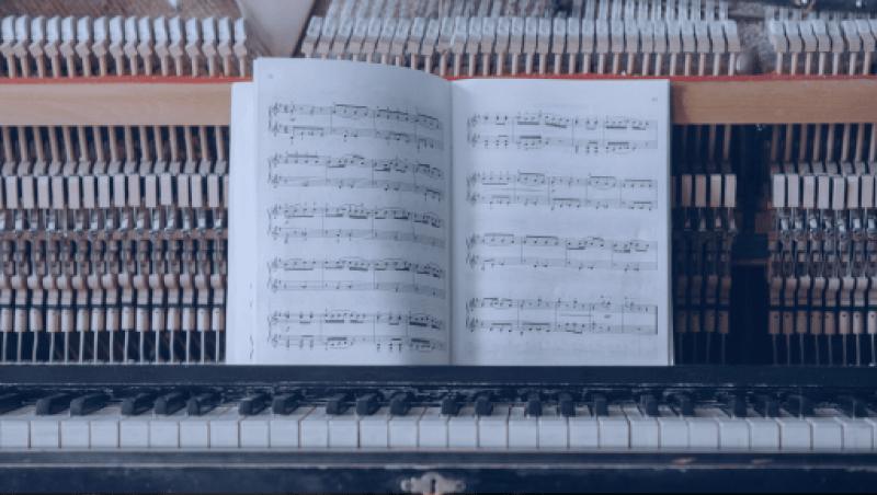 la clé de fa en musique